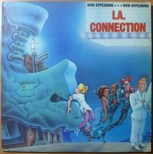 LA CONNECTION - Now appearing - LP