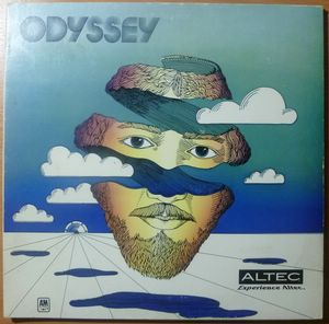 VA RITA COOLIDGE, CHERYL DILCHER, LANI HALL, QUINC - Odyssey - LP Gatefold