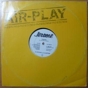 JEROME - If you walk that door / Token - 12 inch 33 rpm