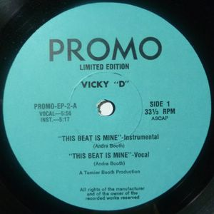 VICKY D - Mystery Lover / this beat is mine - 12 inch 33 rpm