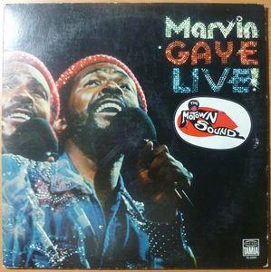 MARVIN GAYE - Live - LP