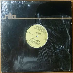 ALEEM (WITH LEROY BURGESS) - Confusion - 12 inch 33 rpm
