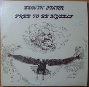 EDWIN STARR - Free to be myself - LP