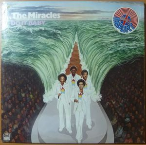 THE MIRACLES - Do it baby - LP
