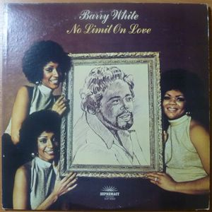 BARRY WHITE - No limit on love - LP