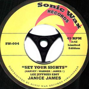 JANICE JAMES - Set your sights - 7inch (SP)