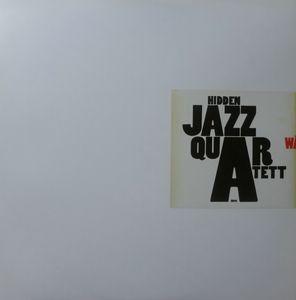 HIDDEN JAZZ QUARTET - Walzer - 12 inch 33 rpm