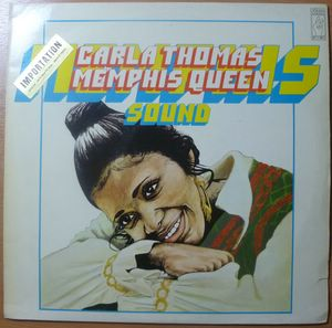 CARLA THOMAS - Memphis queen - LP
