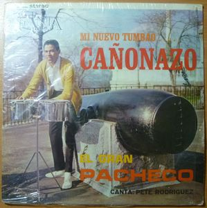 EL GRAN PACHECO (PETE RODRIGUEZ) - Canonazo - LP