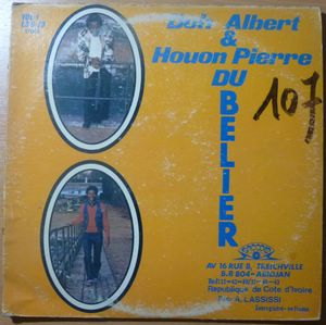 DOH ALBERT & HOUON PIERRE DU BELIER - Amen brother - LP