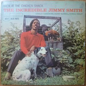 THE INCREDIBLE JIMMY SMITH - Back at the chicken shack - LP