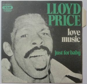 LLOYD PRICE - Love music / Just for baby - 7inch (SP)