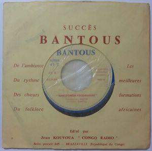 ORCHESTRE BANTOU - Nakotinda recomande / Asiento - 7inch (SP)