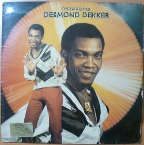 DESMOND DEKKER - The Istraelites - LP