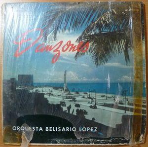 ORQUESTA BELISARIO LOPEZ - Danzones - LP