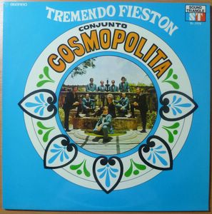 CONJUNTO COSMOPOLITA - Tremendo fieston - LP