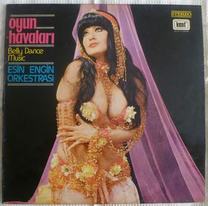 ESIN ENGIN ORKESTRASI (BELLY DANCE) - Ogun Havalari - LP