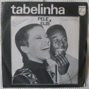 PELE & ELIS REGINA - Perdao, nao tem / Vexamao - 45T (SP 2 titres)