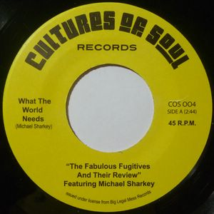 THE FABULOUS FUGITIVES AND THEIR REVIEW FEAT. MICH - What the world need / You made me cry - 7inch (SP)