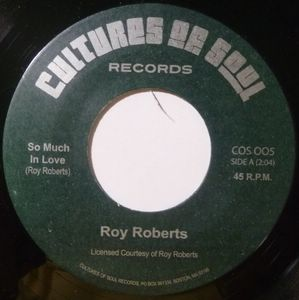 ROY ROBERTS - So much in love / You move me - 7inch (SP)