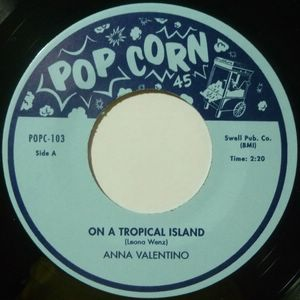 ANNA VALENTINO / RAI MCKINLEY - On a tropical island / Similau - 7inch (SP)