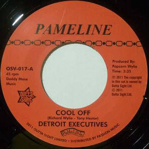 DETROIT EXECUTIVES / MIGHTY LOVERS - Cool off / Mighty lover - 7inch (SP)
