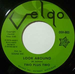 TWO PLUS TWO - I'm sure / Look around - 7inch (SP)