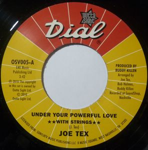 JOE TEX - Under your powerful love - 7inch (SP)