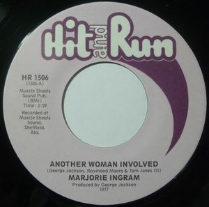 MARJORIE INGRAM - Another woman involved / Love vibrations - 7inch (SP)