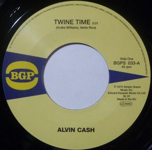 ALVIN CASH / ANN ALFORD - Twine time / Got to get me a job - 7inch (SP)