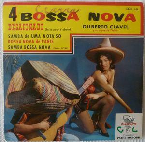 GILBERTO CLAVEL Y SU ORQUESTA TIPICO - Desafinado (4 tracks) - 7inch (EP)