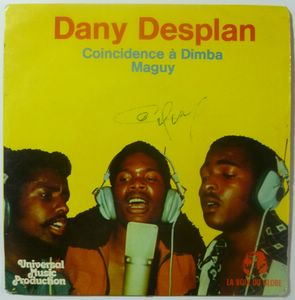 DANY DESPLAN - Coincidence a Dimba / Maguy - 7inch (SP)