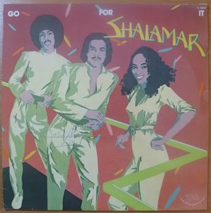 SHALAMAR - Go for it - LP