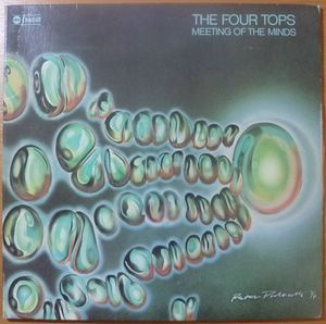 THE FOUR TOPS - Meeting of the minds - LP Gatefold