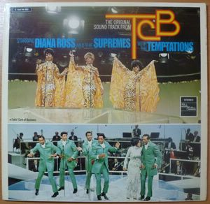 DIANA ROSS AND THE SUPREMES WITH THE TEMPTATIONS - TCB - LP