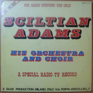 ORCHESTRA SCILTIAN ADAMS - Feeling the riot - LP