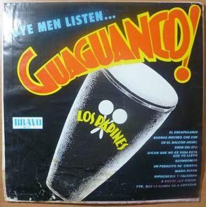 LOS PAPINES - Oye men listen Guaguanco! - LP