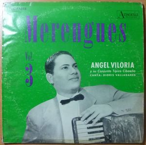 ANGEL VILORIA - Merengues Volume 3 - LP