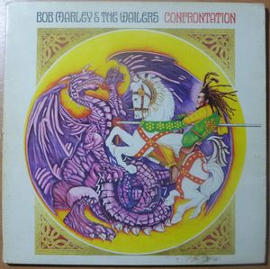 BOB MARLEY & THE WAILERS - Confrontation - LP Gatefold
