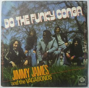JIMMY AND THE VAGABONDS - Do the funky conga / No other woman - 7inch (SP)