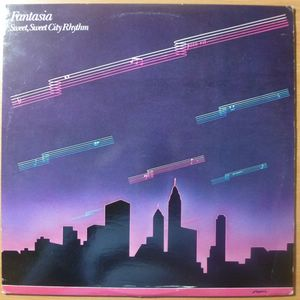 FANTASIA - Sweet, sweet city rhythm - LP