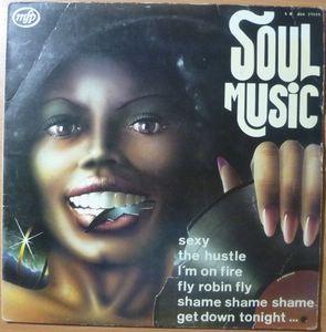 VARIOUS - Soul music - LP