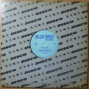 GENE CHANDLER - Time is a thief - 12 inch 33 rpm