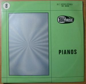 BERNARD ESTARDY / HERVE ROY - Pianos - LP