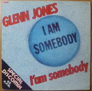 GLENN JONES - I am somebody / Instrumental - 12 inch 33 rpm