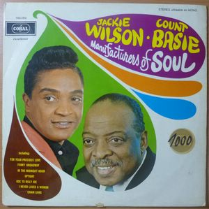 JACKIE WILSON / COUNT BASIE - Manufacturers of Soul - LP