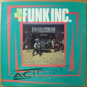 THE FUNK INC - The best of - LP