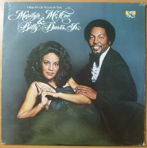 MARILYN MCCOO & BILLY DAVIS JR - I hope we get to love in time - LP