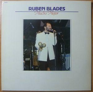 RUBEN BLADES - Mucho Mejor - LP