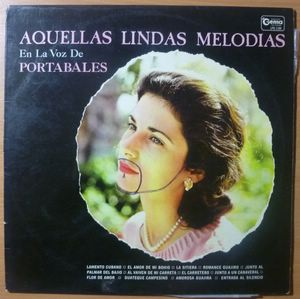 GUILLERMO PORTABALES - Aquellas Lindas melodias - LP